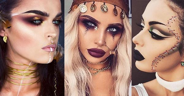5 looks de maquillaje para halloween vorana blog Maquillaje para ninas halloween